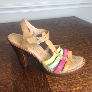 Sweet Born colorful sandals